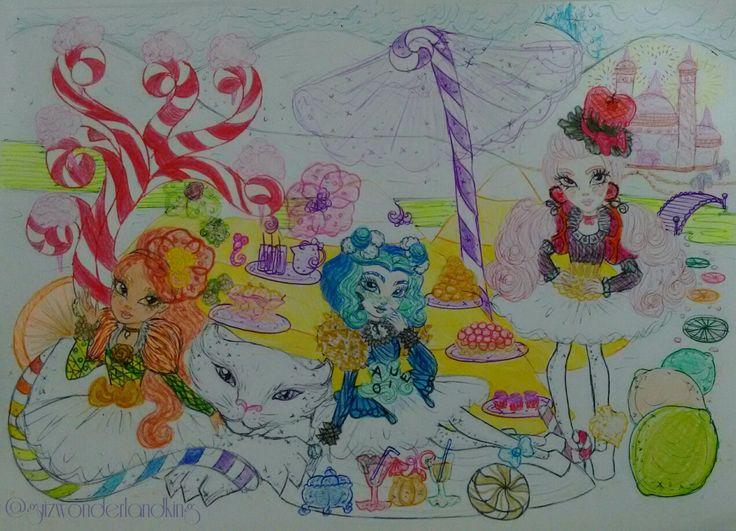 👑 The Waves of Lemonade Kyosk ° Leona Liger, Muffy (OCs by @mi_mizu), Mirana Caterpillar & Vallery Jack (OC by @hearts.jack) • The Way-ves of Lemonade 🍋 #EverAfterHigh #TheWayvesofLemonade #LeonaLiger #Muffy #MiranaCaterpillar #ValleryJack #OC #OriginalCharacter #EAHOC #ValentinesDay #HappyValentinesDay #Mattel #Fanart #Debujo #Drawn #Drawings #Desenho #Illustration #Ilustração #Art #Arte #guizwonderlandking
