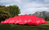 In Need of Outdoor Branding Solutions?  Time to look into stretch tents, also known as Bedouin tents.