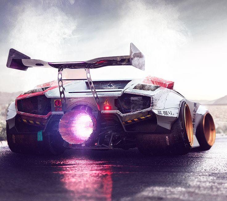 Cknd: Crazy Lamborghini Concept By