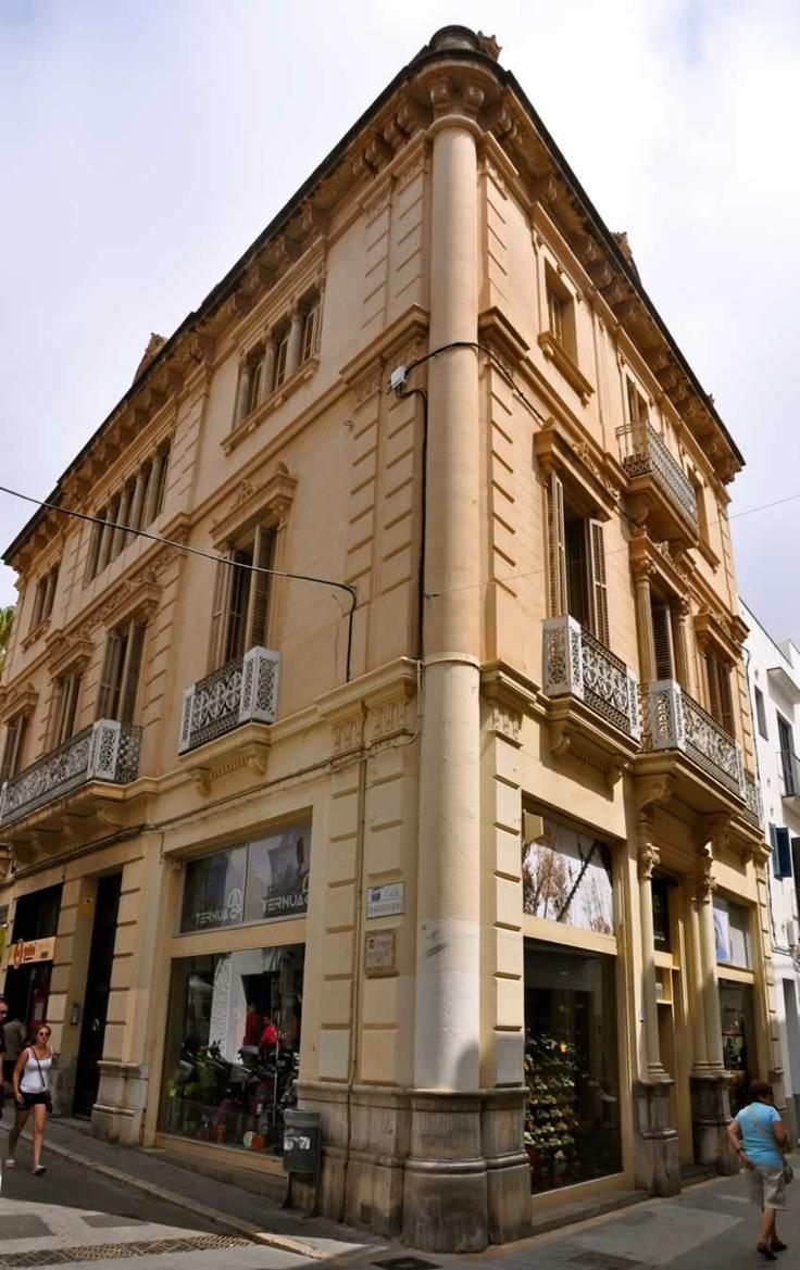 17 best images about sitges ruta tur stica casas singulares del centro on pinterest santiago - Arquitecto sitges ...