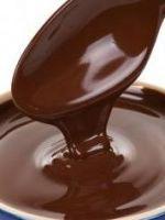 Шоколадная помадка – рецепт