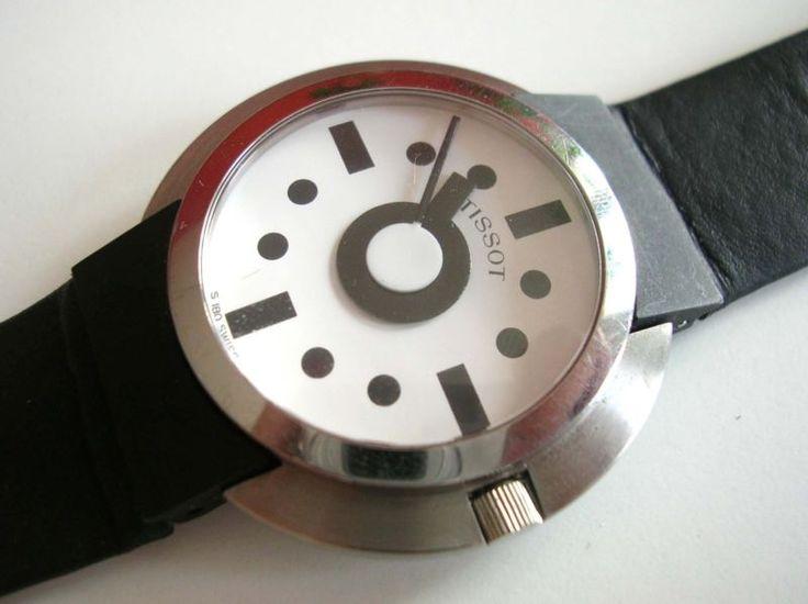 Ettore Sottsass (designer), tissot S180 280 watch, 1988.