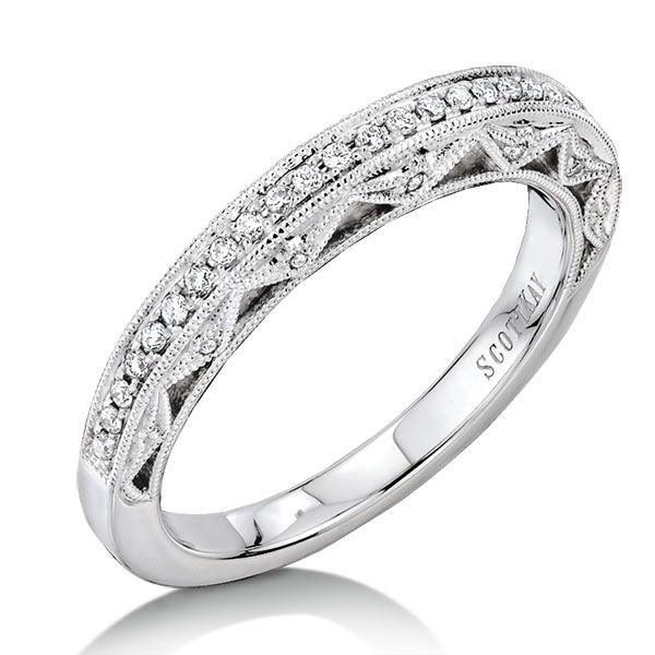 Scott Kay Diamond Wedding Ring 14K