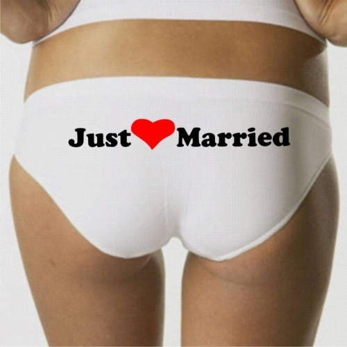 Cheap just married bikini