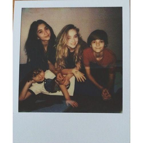 Girl Meets World Cast Polaroid