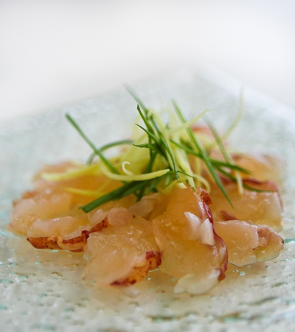 Nobu's Lobster Carpaccio