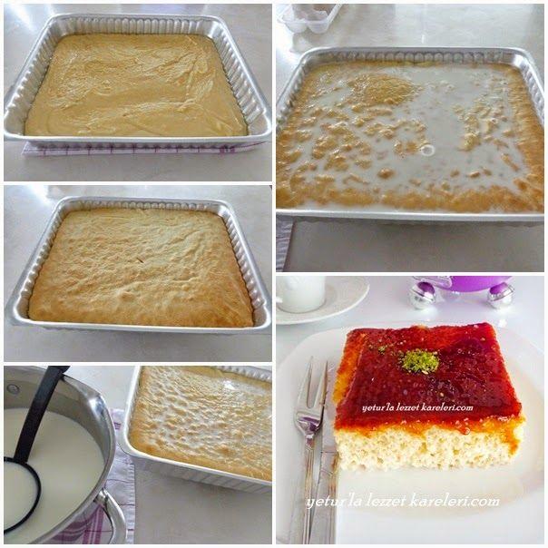yetur'la lezzet kareleri: üç sütlü Arnavut tatlısı - triliçe