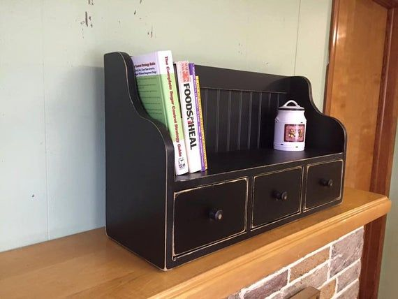 Cookbook And Recipe Rack Kitchen Counter Cookbook Holder Etsy Cookbook Holder Weathered Oak Kitchen Counter