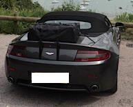 Boot-bag luggage boot rack for Aston Martin