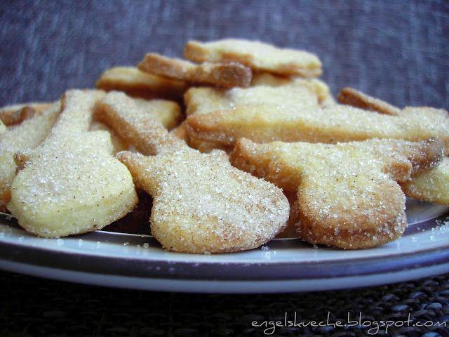 Essen aus Engelchens Küche: Butterplätzchen im Zimt-Zucker-Mantel