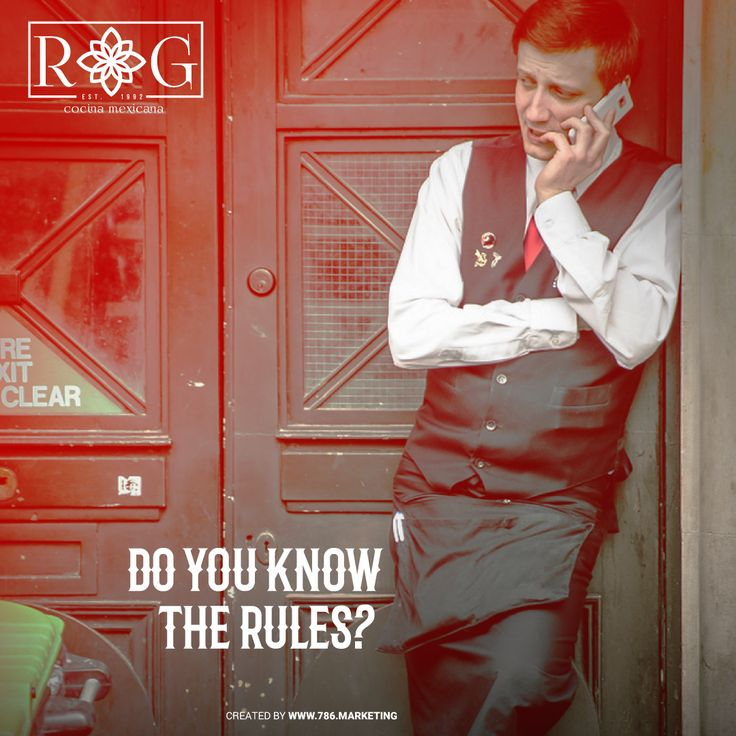 5 Thumb Rules For Restaurants' Staff. Check it out http://ow.ly/v5lT302IdAr#RGCocinaMexicana #Miami #Deliver  #food  #guacamole  #chips #salsa #eat  #eaters #foodies  #mexican  #southbeach #miami #summer #yummy #instafood #miamifoodies #sopadetortilla #burritos #tortilas #fajitas