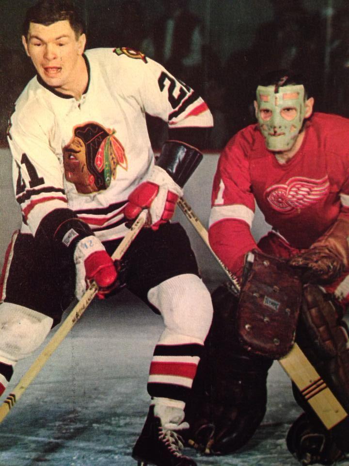 Terry Sawchuk & Stan Mikita