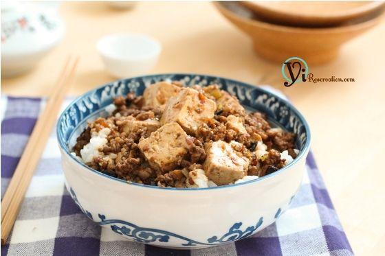 Sichuan Mapo Tofu | 麻婆豆腐 | Yi Reservation