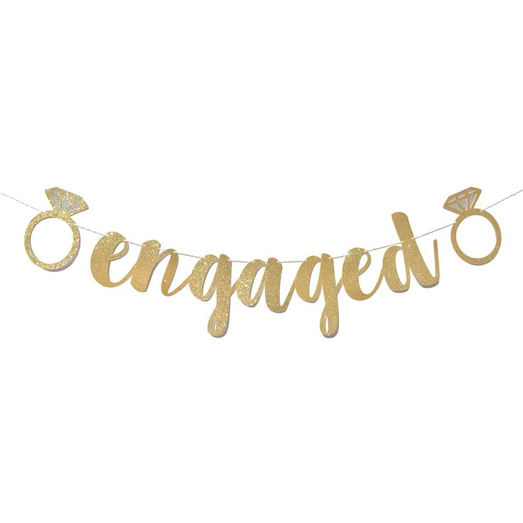 Engagement Party Decorations | Engaged Banner | Engagement Party Ideas | Engagement Party Decor | Engagement Party Sign | Engagement Banner by ShowPonyPartyShop on Etsy https://www.etsy.com/listing/473954354/engagement-party-decorations-engaged