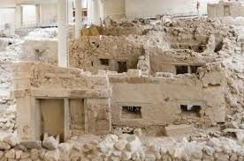 Archaeological site of Akrotiri - Santorini