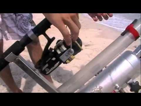 The Sand Blaster Bait Caster! The future in surf fishing! - YouTube
