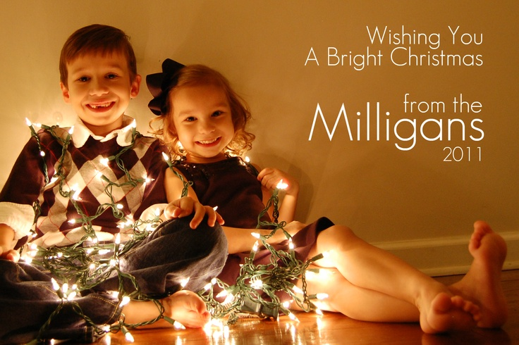 Our Christmas photo shot with a Nikon D40 on manual setting (ISO 800, F 3.5, 1/15) with continuous shot. It took a few silly sounds to get these great smiles.