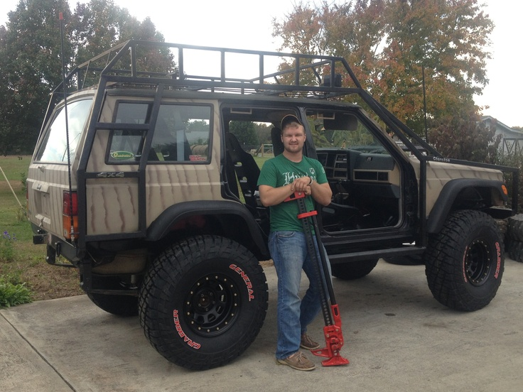 Justin's jeep project (October,2012)