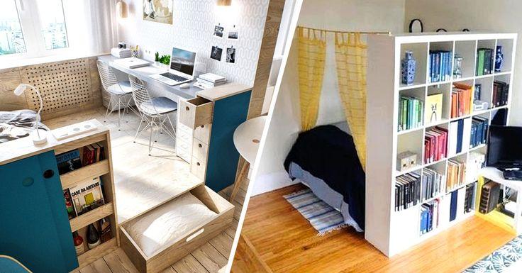Ten fantastic tricks toenlarge asmall apartment
