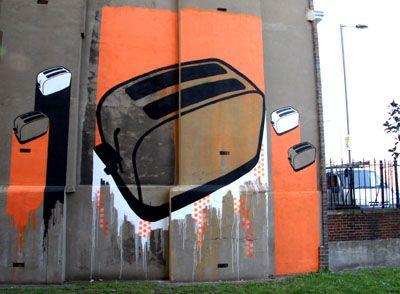 The Toaster, London street art