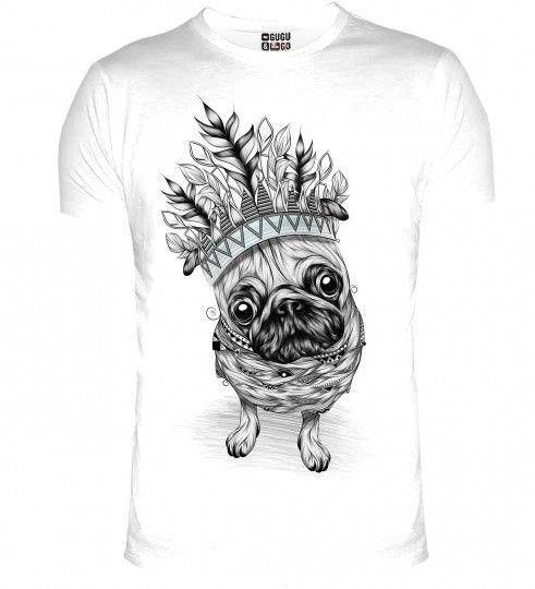 King Pug t-shirt Thumbnail 1