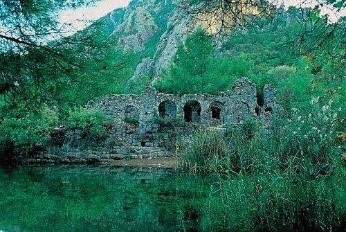 Lost City, Olympos. Turkey