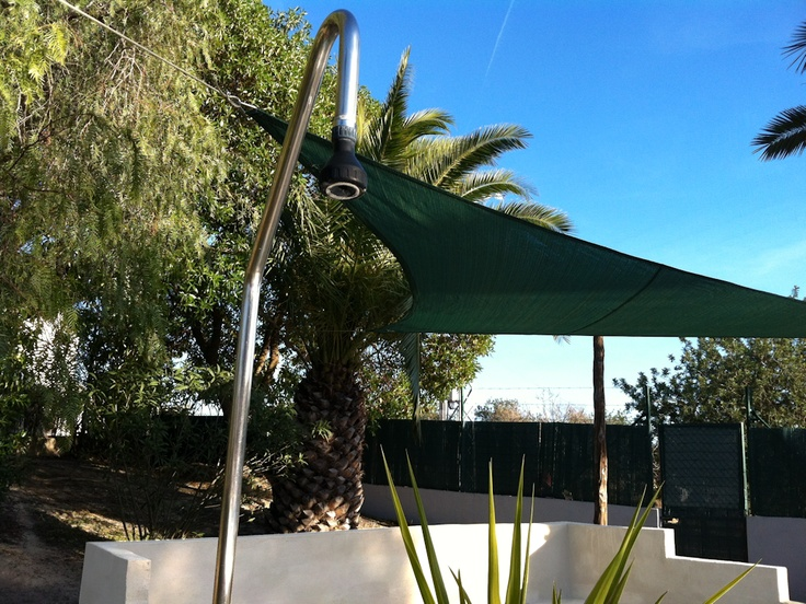 New in 2013!  The outdoor lounge area has been covered to protect you against the hot summer sun.  You will find this area attached to the swimming pool.