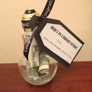 Light Bulb Jar Graduation Gift by MakingMemoriesWithU on Etsy
