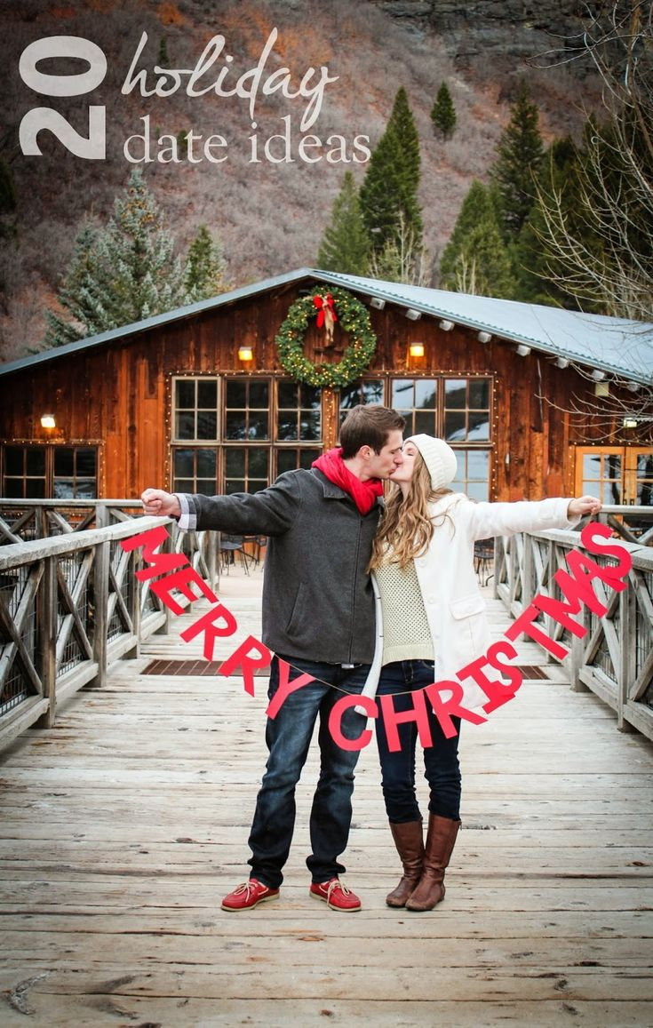 These are so fun- 20 Holiday Date Ideas! www.bellatheblog.com