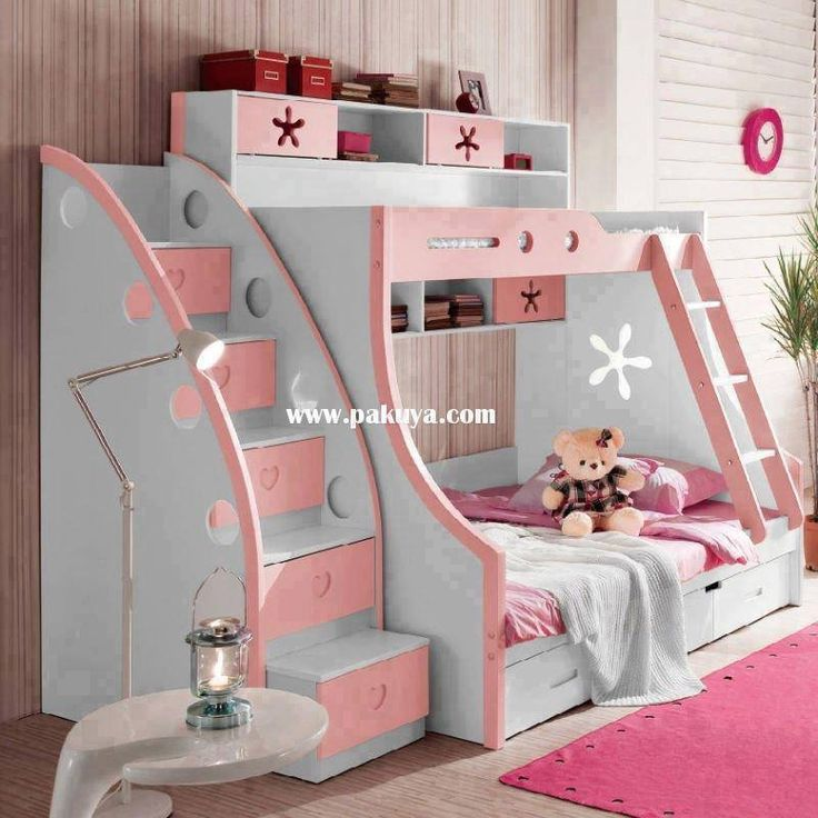 15 Inspiring Bunk Bed With Stairs in