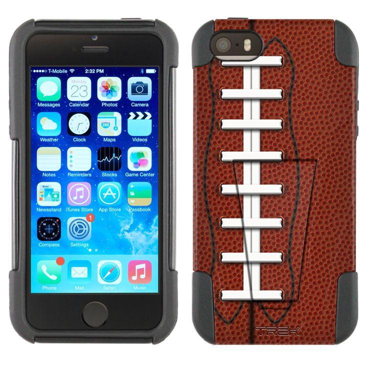Apple iPhone 5 Laced Football Skin Hybrid Case