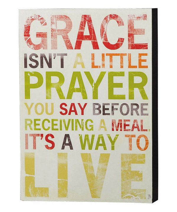 love this 39 grace 39 wall sign by evergreen on zulily