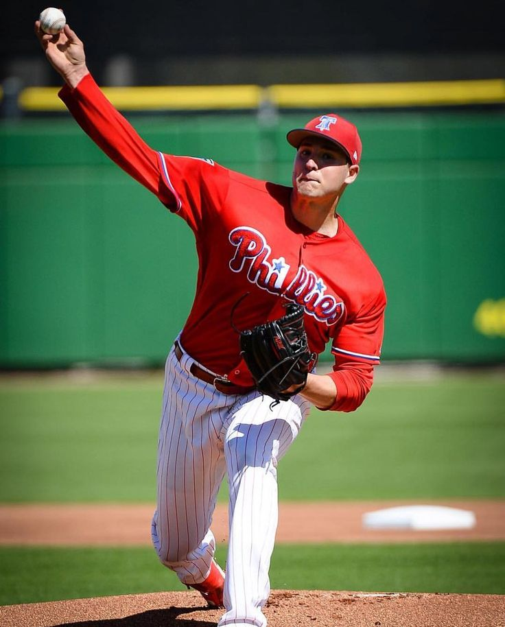 The Phils won todays Spring Training game against the Blue Jays 4-2. Jerad Eickhoff allowed 0 ERs in 2.2 IP. Jake Thompson threw 2.1 innings allowing 2 hits and getting 2 SOs. At the plate Danny Ortiz hit a RBI single and ended the day with 1 RBI. Tomorrows game is at 1:05 vs the Twins . . . #MLB #MiLB #Baseball #BaseballSeason #Phillies #philadelphia #philadelphiaphillies #BlueJays #Toronto #JeradEickhoff #JakeThompson #DannyOrtiz
