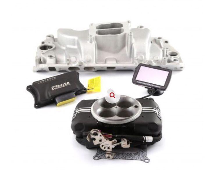 Chevy BBC 454 Oval Port Manifold & Fast Ez-Efi Self-Tuning Fuel Injection System  | eBay
