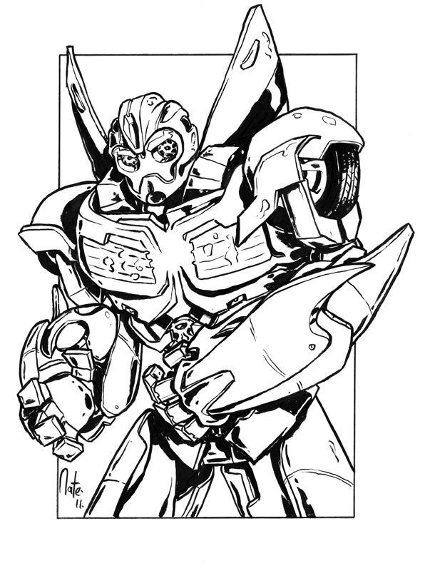 Bumblebee Transformer Printable Coloring Pages ...