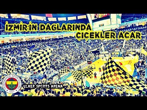 FENERBAHÇE 77-71 CSKA MOSKOVA – Sarı Tribün izmir marşı