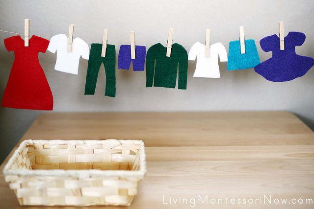 Montessori Monday - Practical Life Activities + Free Printable from Montessori By Mom