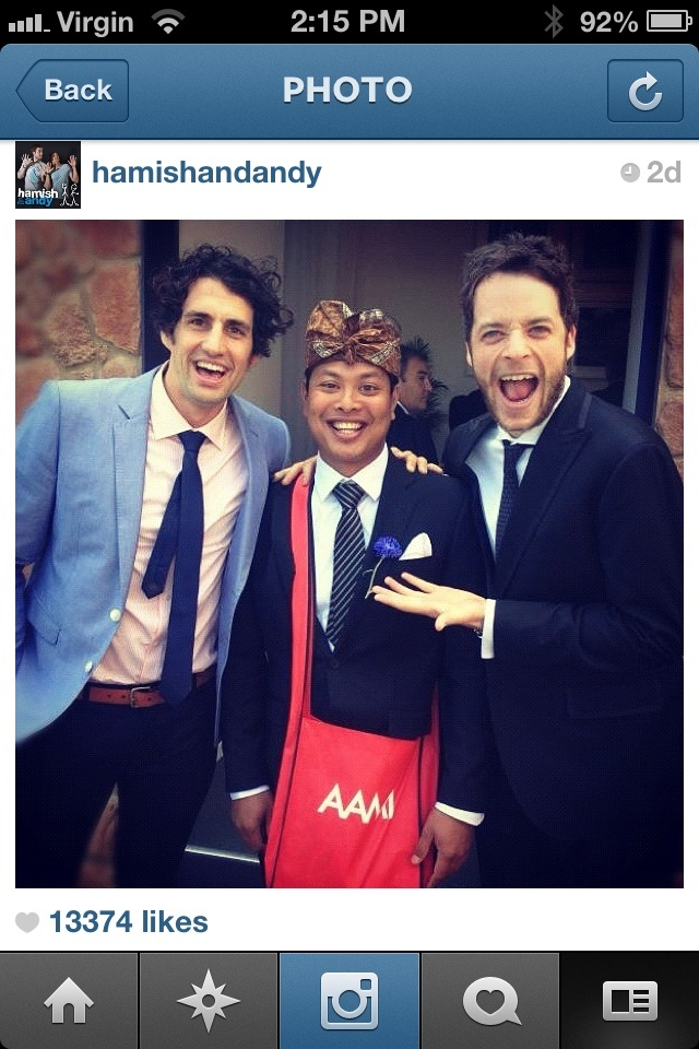 Hamish and Andy meet Katut !!