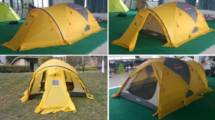 Merapi Mountain 4 seasons expedition tent