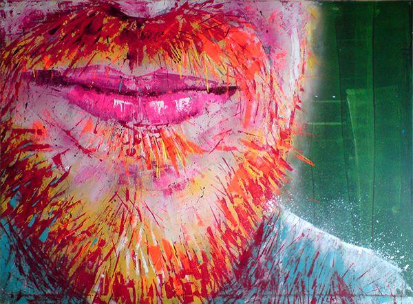 * * * F O R S A L E * * * 'Van Gogh' · 90x120cm · acrylic on canvas · © Sander Van Stijn · 2013