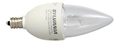 SYLVANIA Ultra LED Chandelier Bulb dimmable 6W Replacing 40W Halogen B13