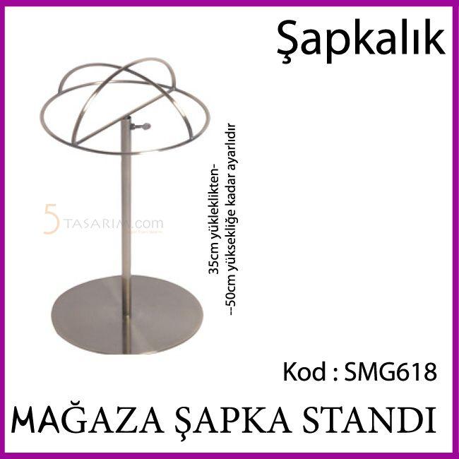 mağaza şapka standı SMG618