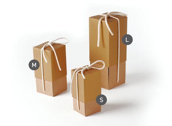 Caja de cartón para botellas perfecta para regalo