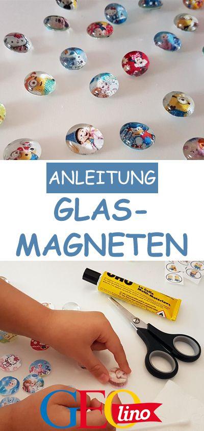 Glasmagneten basteln: Bastelanleitung bei GEOlino.de