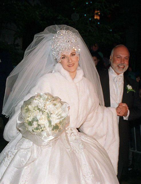 Céline Dion : des noces de porcelaine 30 ans le 17 décembre 1994.