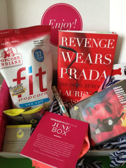 best subscription box I own! Love the popsugar box, this box was worth over $200, for only $30!