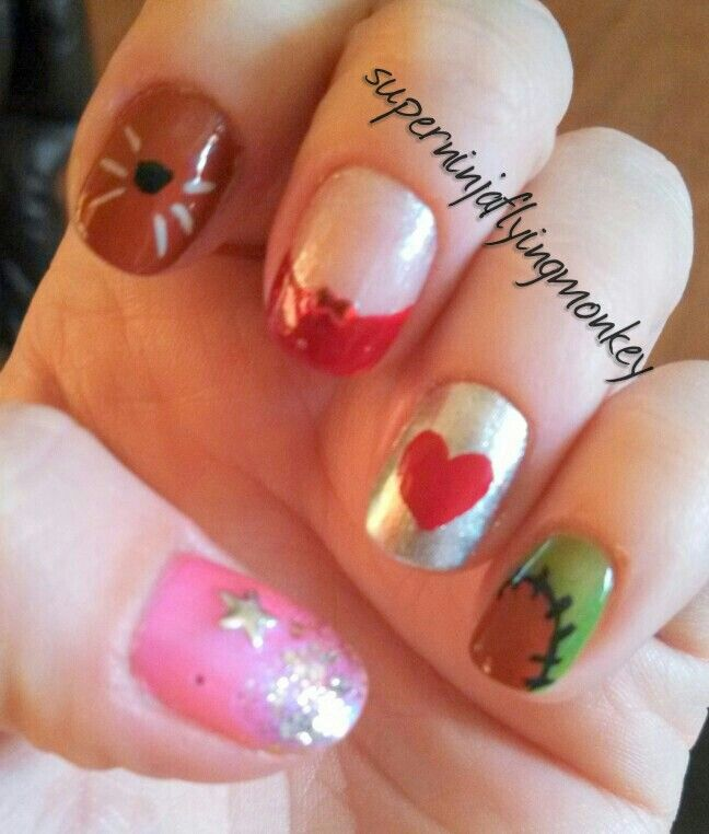 Wizard of Oz nails