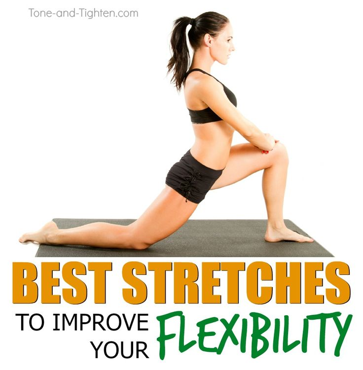 10 of the best stretches to increase flexibility from Tone-and-Tighten.com