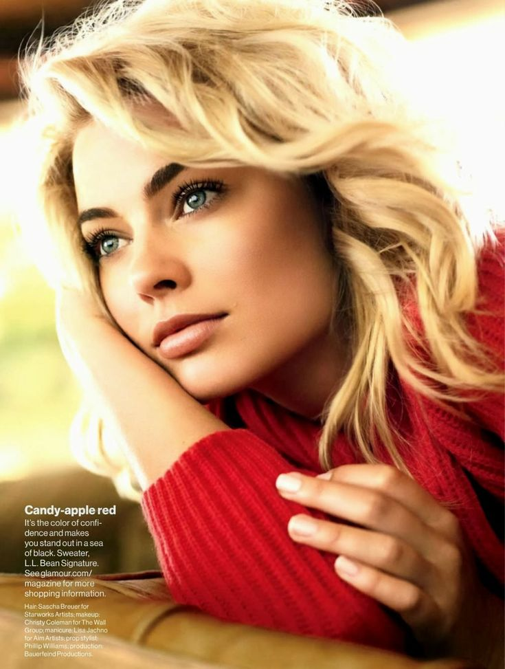 Margot Robbie - November 2013 Glamour