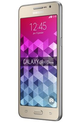 Mobile nu Samsung GALAXY GRAND PRIME OR pas cher prix Smartphone Darty 199.90 €